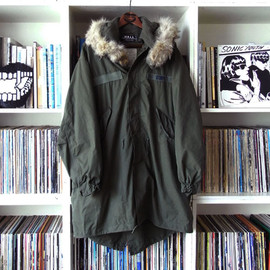 W.A.L.L. - M-65 Shell Parka customized by W.A.L.L.