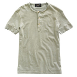 RRL - Short-Sleeved Contrast Henley