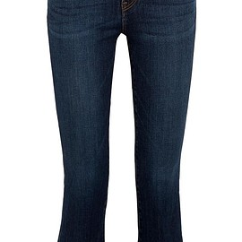 J Brand - Selena cropped mid-rise bootcut jeans