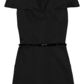 3.1 Phillip Lim - 3.1 belted structured-satin playsuit