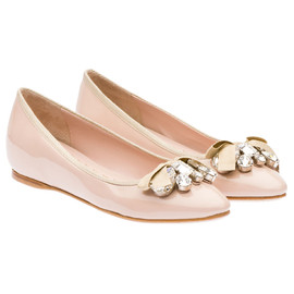miu miu - Patent leather ballerina