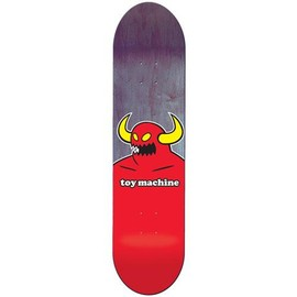"Toy Machine - Toy Machine Monster Fiberprime 7.75"" Logo Deck: Bottom"