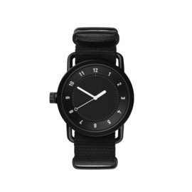 TID Watches - No. 1 Watch - Black Face