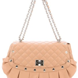 MOSCHINO CHEAP & CHIC - Nude quilted leather shoulder bag