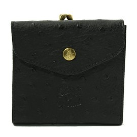 IL BISONTE - Ostrich Embossed Leather / Wallet