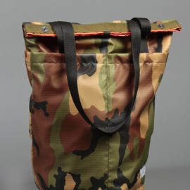 Draught Dry Goods - Travel Tote - Ripstop Camo