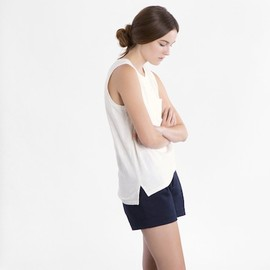 Everlane - The Muscle Tank in Cream by Langley Fox