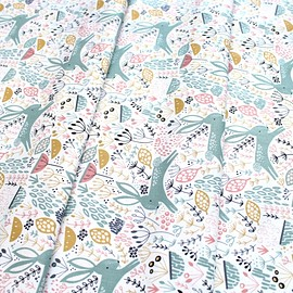 Dashwood Studio - Dovestone DOVE 1356 Rabbits on White