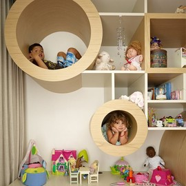 MPR Design Group  - Cubby Hole Shelves