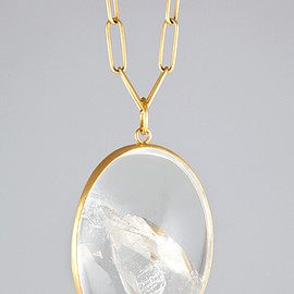 MARIA BEAULIEU - PHANTOM QUARTZ PENDANT