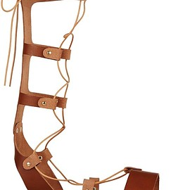 Ancient Greek Sandals - Thebes lace-up leather sandals