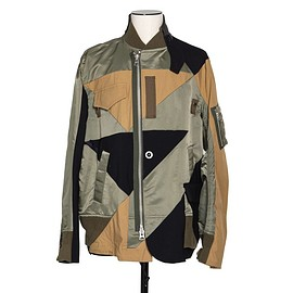 sacai - Hank Willis Thomas / Solid Mix Blouson