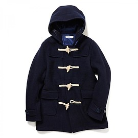 HEAD PORTER PLUS - DUFFLE COAT NAVY