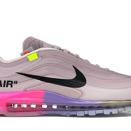 "NIKE, Off-White, Air Max 97 - Air Max 97 Off-White Elemental Rose Serena ""Queen"""
