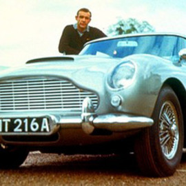 Aston Martin - THE Car (007's DB5)