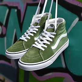 VANS - Vans Sk8-Hi Reissue Shoes Green