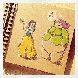 DeeeSkye - Baymax and Disney
