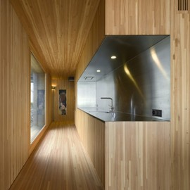 Lisher Partner Architects - Kitchen, House in Vitznau, Switzerland