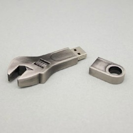 Stainless Steel Wrench USB