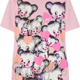 Meadham Kirchhoff  - Love Is Revenge printed cotton-jersey T-shirt