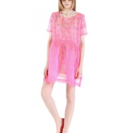 DAYDREAM NATION - DAYDREAM NATION The Big Girl Tea Dress PINK