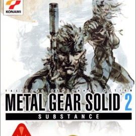 KONAMI - METAL GEAR SOLID 2 SUBSTANCE