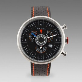 Paul Smith - Black Cycle Eyes Chronograph Watch