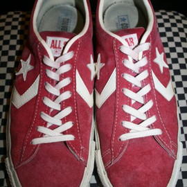 CONVERSE - 70'S  ALL STAR SUEDE OX  MADE IN USA