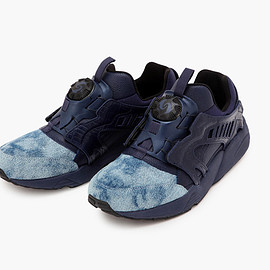 "PUMA, UNITED ARROWS & SONS, 5525gallery - Disc Blaze ""Indigo"""