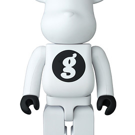 MEDICOM TOY - BE@RBRICK GOODENOUGH WHITE 400%