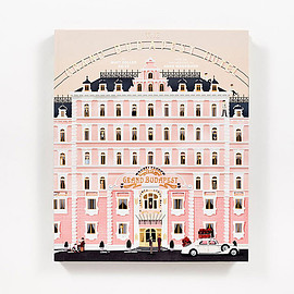 WES ANDERSON - THE GRAND BUDAPEST HOTEL BOOK