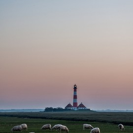 Schleswig-Holstein, Germany - Westerhever Lighthouse