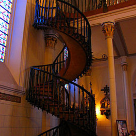 サンタフェ - Loretto Chapel Miraculous staircase