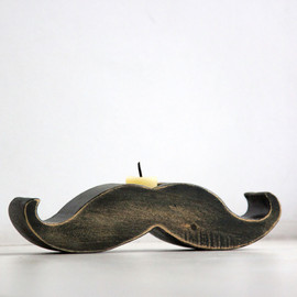 DesignAtelierArticle - Mustache Candle Holder