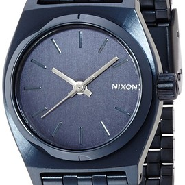 nixon - NIXON SMALL TIME TELLER: ALL INDIGO NA3991929-00