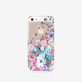 bycsera - Floral iPhone 6s Case Clear Floral iPhone 6s Plus Case Clear