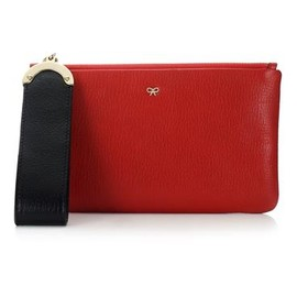 ANYA HINDMARCH - Seymour Zip Top Pouch - Red