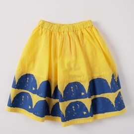 BOBO CHOSES - Wave skirt yellow [ SPRING ]