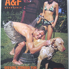 "Abercrombie & Fitch - A&F Quarterly, Summer Issue 1998 ""Seeking Serious Fun"""