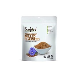 Sunfood - Raw Organic Milled Flaxseed