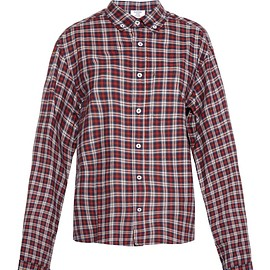 VETEMENTS - Oversized plaid cotton shirt