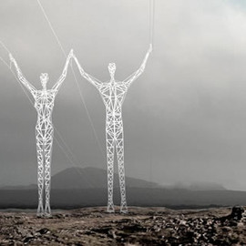 Choi + Shine Architects - Icelandic High-Voltage Electrical Pylon Competition