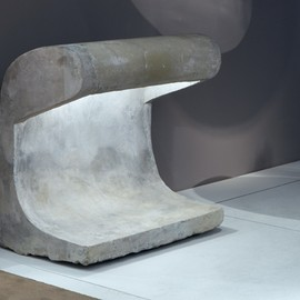 Le Corbusier - Concrete Lamp, Cite Radieuse & Chandigarh, ca 1955