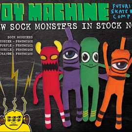Toy Machine - Sock Monsters