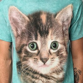 urban outfitters - Cat Face Tee