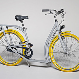 Pibal bicycle - by Philippe Starck and Peugeot