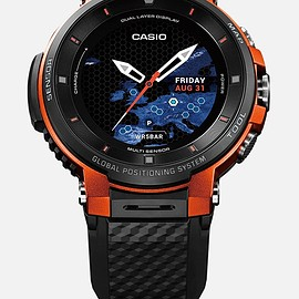 CASIO - ProTrek Smart (WSG-F30-RG) - Orange