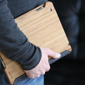 Grove - handmade bamboo case for the new iPad