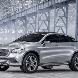 Mercedes-Benz - concept coupe SUV