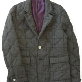 bal - Down Quilted Tailored Jacket (charcoal)